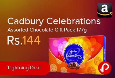 Cadbury Celebrations Assorted Chocolate Gift Pack 177g