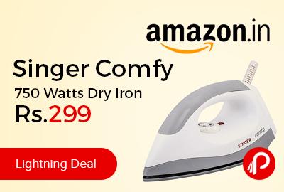 Singer Comfy 750 Watts Dry Iron