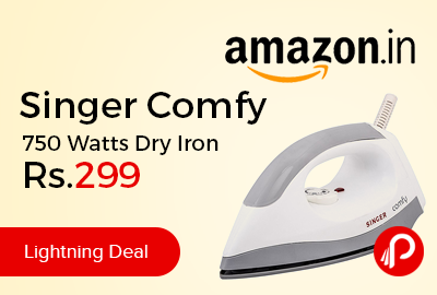 Singer Comfy 750 Watts Dry Iron