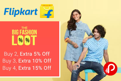 The Big Fashion Loot on Flipkart