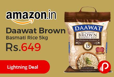 Daawat Brown Basmati Rice 5kg