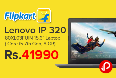 "Lenovo IP 320 80XL03FUIN 15.6"" Laptop"