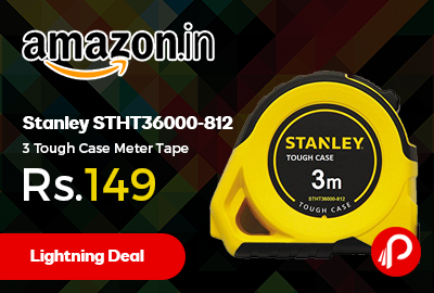 Stanley STHT36000-812 3 Tough Case Meter Tape