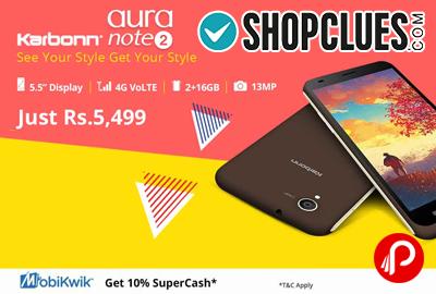 Karbonn Aura Note 2 4G VoLTE Mobile