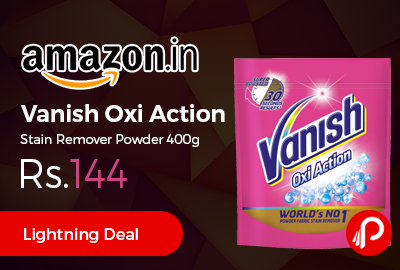 Vanish Oxi Action Stain Remover Powder 400g