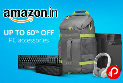PC Accessories Upto 60% off