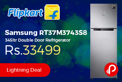 Samsung RT37M3743S8 345ltr Double Door Refrigerator