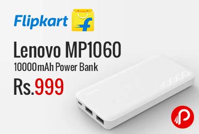 Lenovo MP1060 10000mAh Power Bank