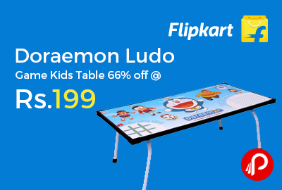 Doraemon Ludo Game Kids Table