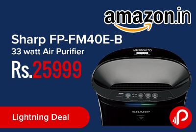 Sharp FP-FM40E-B 33 watt Air Purifier