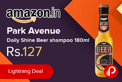Park Avenue Daily Shine Beer shampoo 180ml