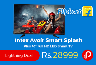 "Intex Avoir Smart Splash Plus 43"" Full HD LED Smart TV"