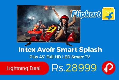 """Intex Avoir Smart Splash Plus 43"""" Full HD LED Smart TV"""