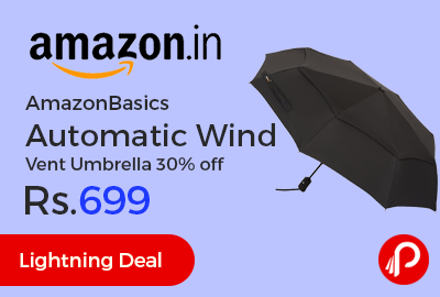 AmazonBasics Automatic Wind Vent Umbrella