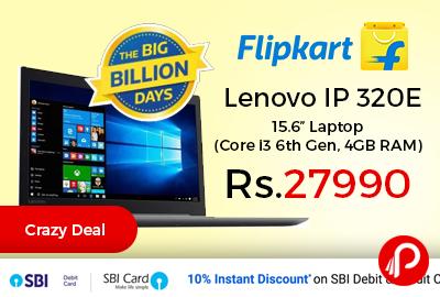 "Lenovo IP 320E 15.6"" Laptop"