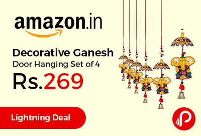 Decorative Ganesh Door Hanging Set of 4