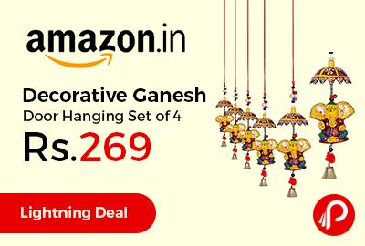 Decorative Ganesh Door Hanging Set of 4