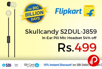 Skullcandy S2DUL-J859 In-Ear Pill Mic Headset