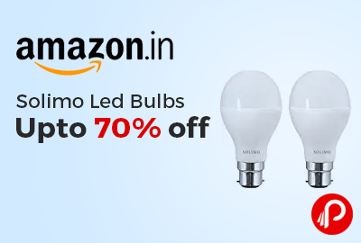 Solimo Led Bulbs