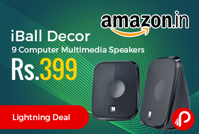 iBall Decor 9 Computer Multimedia Speakers