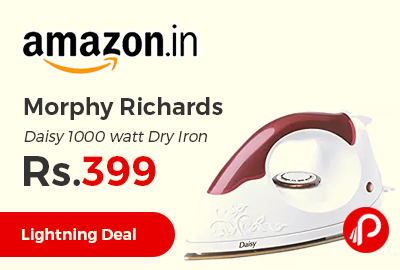 Morphy Richards Daisy 1000 watt Dry Iron
