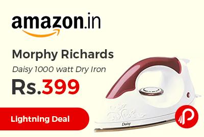 Morphy Richards Daisy 1000 watt Dry Iron