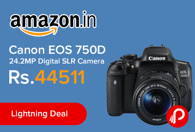 Canon EOS 750D 24.2MP Digital SLR Camera
