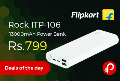 Rock ITP-106 13000mAh Power Bank