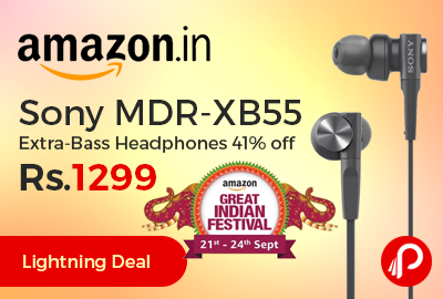 Sony MDR-XB55 Extra-Bass Headphones