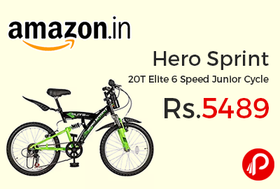 Hero Sprint 20T Elite 6 Speed Junior Cycle