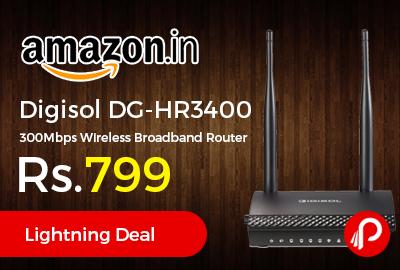 Digisol DG-HR3400 300Mbps Wireless Broadband Router