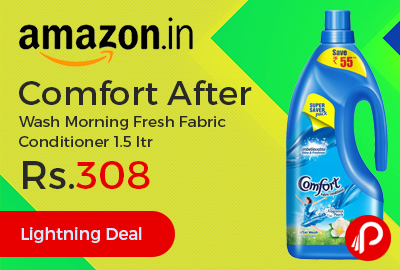 Comfort After Wash Morning Fresh Fabric Conditioner 1.5 ltr