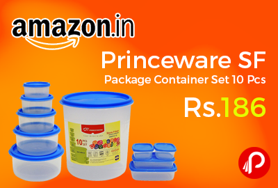 Princeware SF Package Container Set 10 Pcs