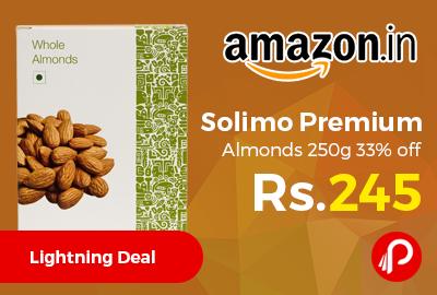 Solimo Premium Almonds 250g