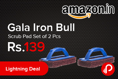 Gala Iron Bull Scrub Pad Set of 2 Pcs