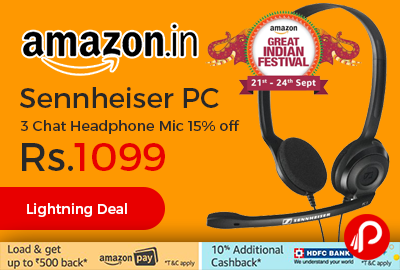 Sennheiser PC 3 Chat Headphone Mic