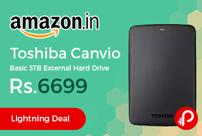 Toshiba Canvio Basic 3TB External Hard Drive