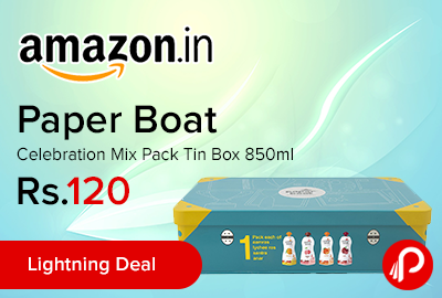 Paper Boat Celebration Mix Pack Tin Box 850ml