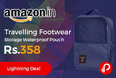 Travelling Footwear Storage Waterproof Pouch