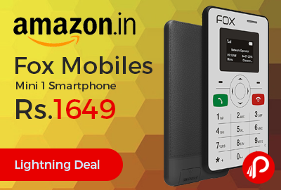 Fox Mobiles Mini 1 Smartphone