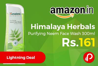 Himalaya Herbals Purifying Neem Face Wash 300ml