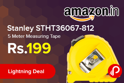 Stanley STHT36067-812 5 Meter Measuring Tape