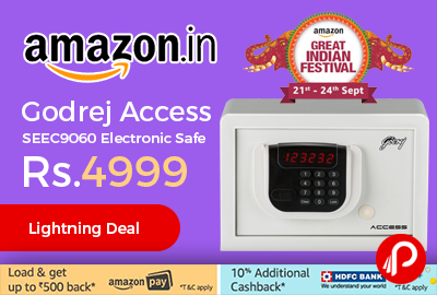 Godrej Access SEEC9060 Electronic Safe