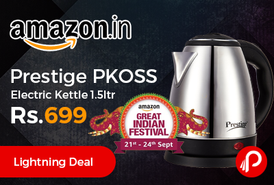 Prestige PKOSS Electric Kettle 1.5ltr