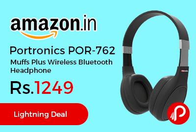 Portronics POR-762 Muffs Plus Wireless Bluetooth Headphone