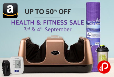 Health and Fitness Sale 3-4 September