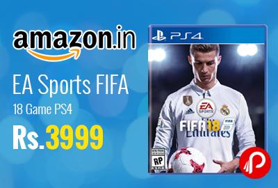 EA Sports FIFA 18 Game PS4