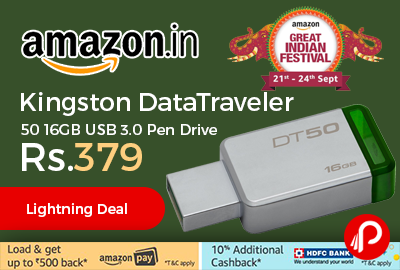 Kingston DataTraveler 50 16GB USB 3.0 Pen Drive