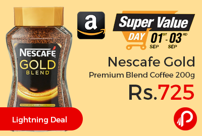 Nescafe Gold Premium Blend Coffee 200g