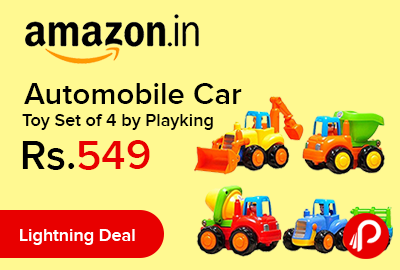 Automobile Car Toy Set of 4 by Playking